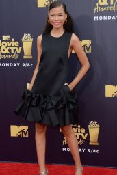 Storm Reid – 2018 MTV Movie And TV Awards in Santa Monica