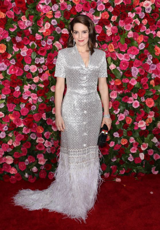 Tina Fey – 2018 Tony Awards in NYC