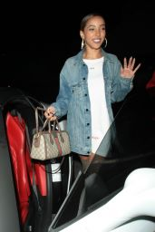 Tinashe - Delilah in West Hollywood 06/13/2018