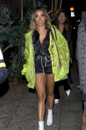 Tinashe Night Out Style - Delilah in West Hollywood 06/23/2018