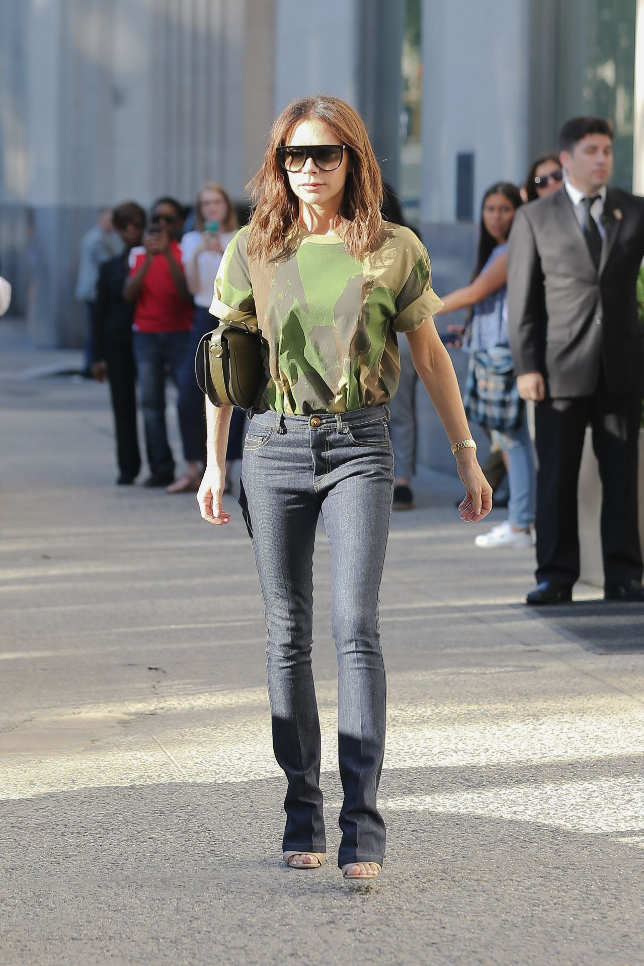 Victoria Beckham Casual Style