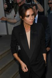 Victoria Beckham - Leaving her Dover Street Store in London 06/25/2018