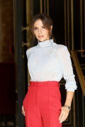 Victoria Beckham - Leaving Her Hotel in Paris 06/23/2018