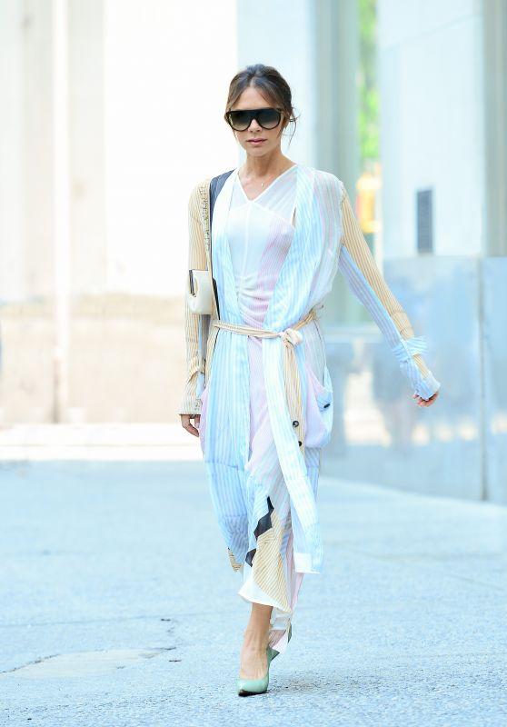 Victoria Beckham Style and Fashion - New York City 06/18/2018