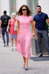 Victoria Beckham Style - New York City 06/19/2018