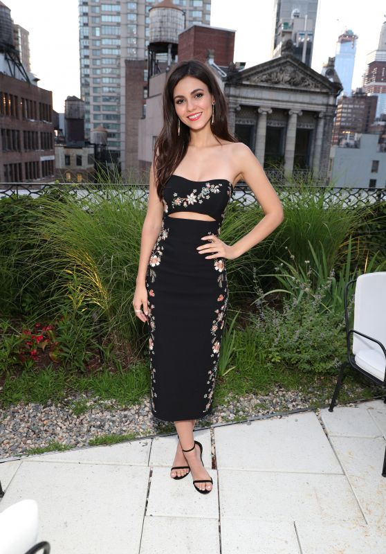 Victoria Justice - Shop Saks With Platinum Benefit Launch in NYC 06/26/2018