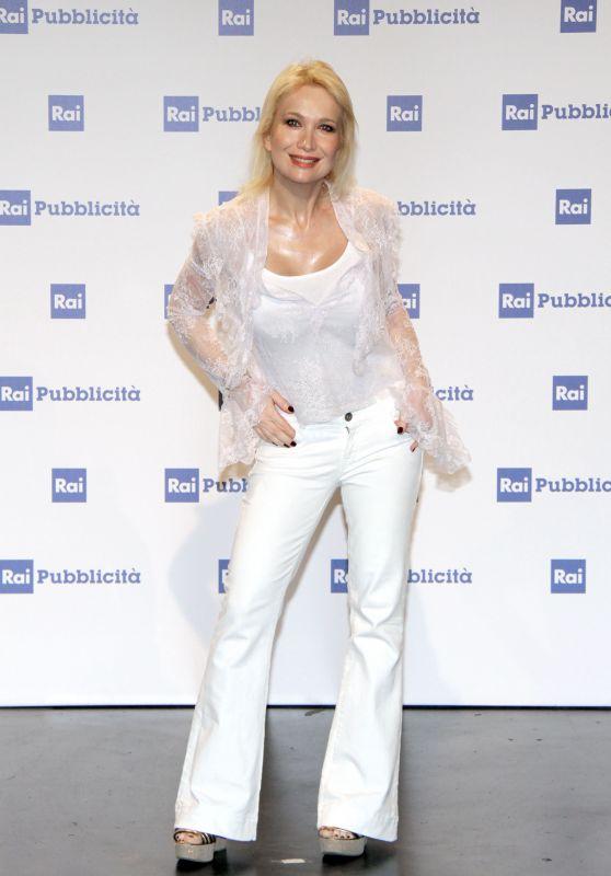 Vira Carbone - Presentation Palinsesti Rai in Milan 06/27/2018