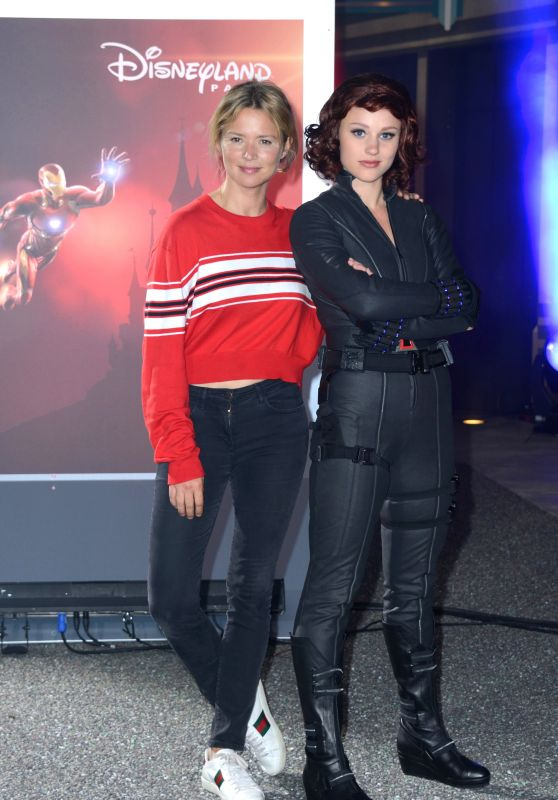 "Virginie Efira – ""Marvel Summer of Super Heroes"" Opening Ceremony at Disneyland Paris"
