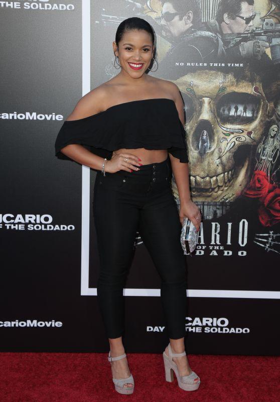 """Vivian Lamolli – """"Sicario: Day Of The Soldado"""" Premiere in LA"""