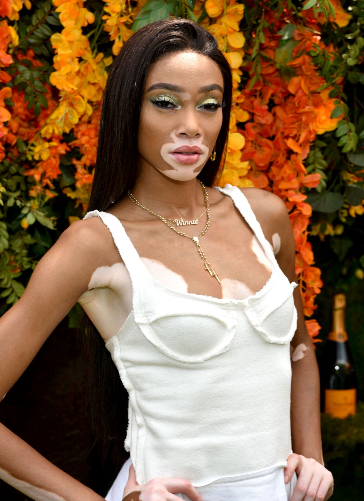 winnie harlow veuve clicquot polo classic in new jersey