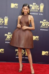 Zendaya – 2018 MTV Movie And TV Awards in Santa Monica