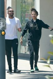 Zendaya - Shopping With Her Assistant Darnell Appling in Studio City 06/14/2018