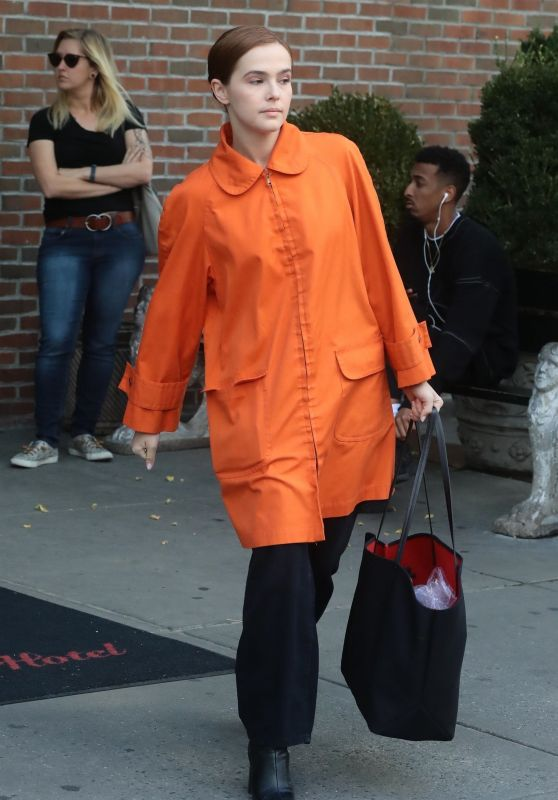 Zoey Deutch - Checks Out of the Bowery Hotel in New York City 06/15/2018
