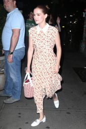 Zoey Deutch Night Out Style - New York 06/20/2018