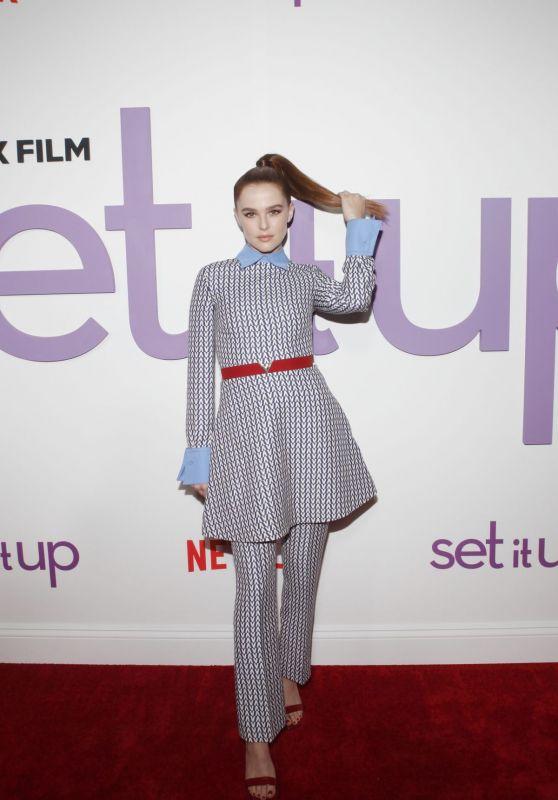 """Zoey Deutch - """"Set It Up"""" Specials Screening in New York"""