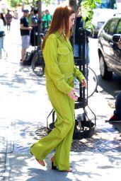 Zoey Deutch Street Fashion - New York City 06/12/2018