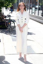 Zoey Deutch - Visits BUILD Series in New York City 06/12/2018