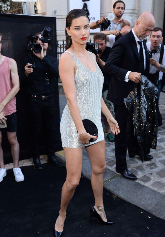 Adriana Lima - Vogue Foundation Dinner 2018 in Paris