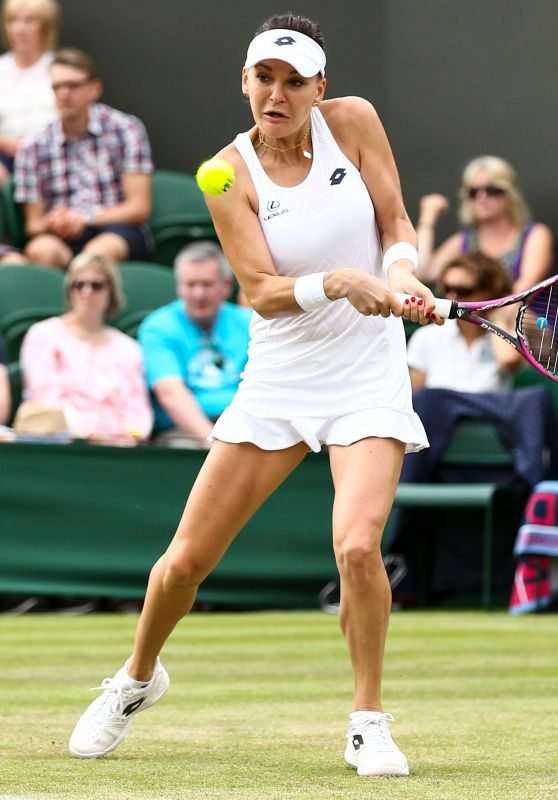 Agnieszka Radwanska – Wimbledon Tennis Championships in London 07/04/2018