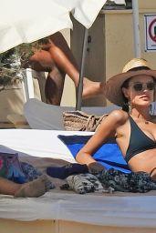 Alessandra Ambrosio in Bikini in Ibiza 07/06/2018