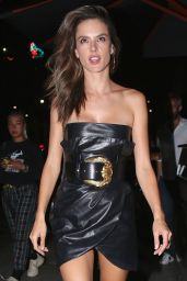 Alessandra Ambrosio Night Out Style - Leaves Tao Restaurant in Hollywood 07/20/2018