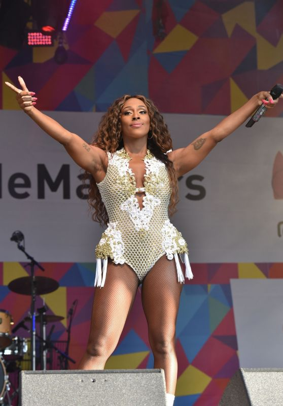 Alexandra Burke - Performing at the Pride London Festival in London 07/07/2018