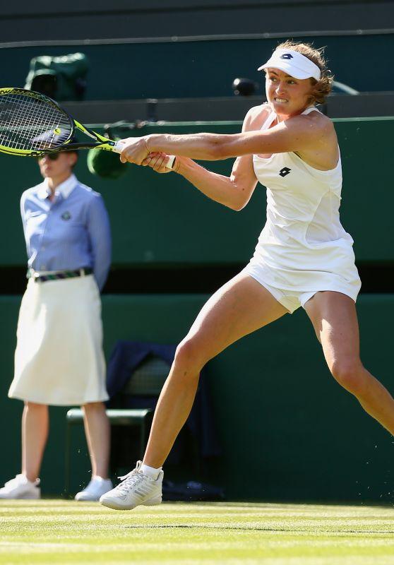 Aliaksandra Sasnovich – Wimbledon Tennis Championships in London 07/03/2018