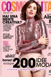 Alison Brie - Cosmopolitan Italia August 2018