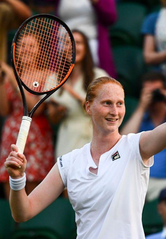 Alison Van Uytvanck – Wimbledon Tennis Championships in London 07/05/2018
