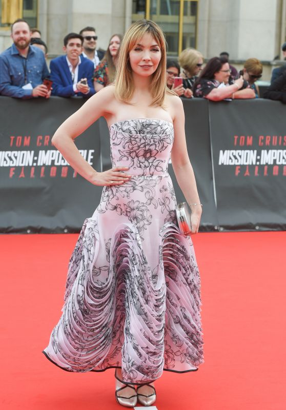 "Alix Benezech - ""Mission Impossible - Fallout"" Premiere in Paris"