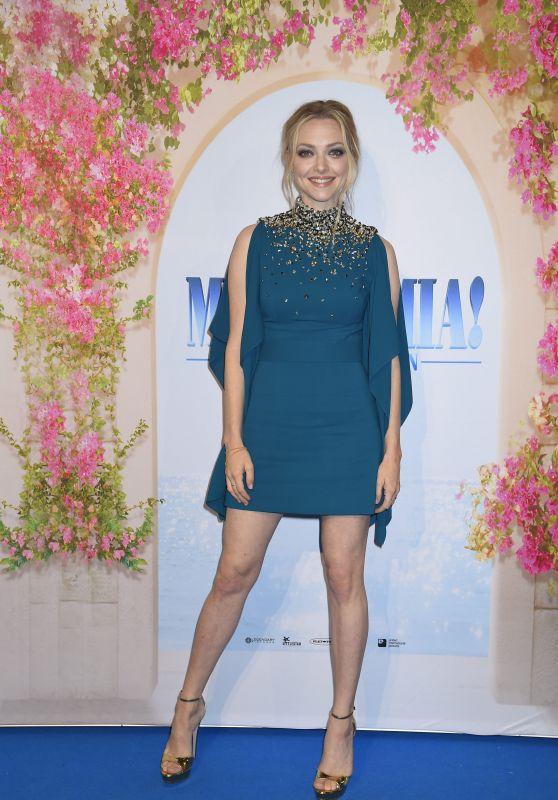 "Amanda Seyfried – ""Mamma Mia! Here We Go Again"" Premiere in Stockholm"