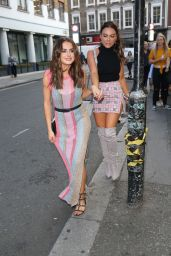 Amber Davies at Love Island Viewing Party in London 07/30/2018