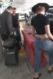 Amber Heard at LAX in Los Angeles 07/16/2018