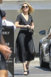 Amber Heard - Out for Lunch in Beverly Hills 07/24/2018