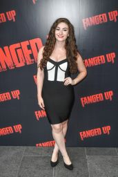 "Amber Thorne – ""Fanged Up"" Premiere in London"