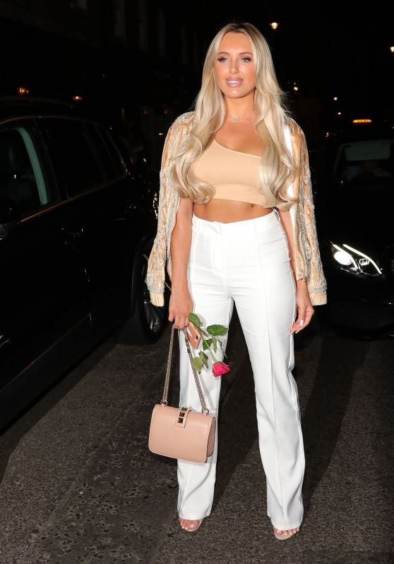 Amber Turner - Leave MNKY House in London 07/18/2018