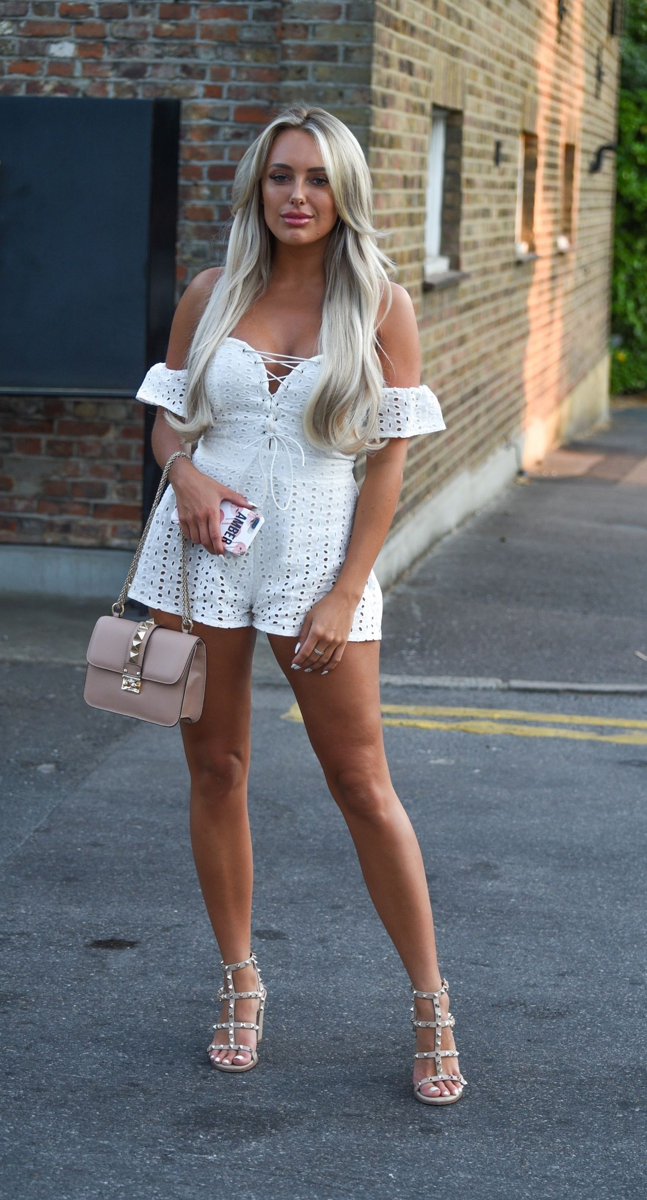 Amber Turner Out In Essex 07 07 2018