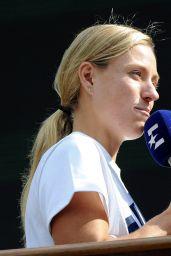 Angelique Kerber - 2018 Wimbledon Tennis in London, Press Conference 07/12/2018