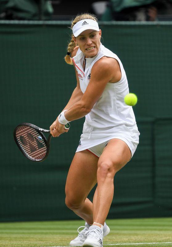 Angelique Kerber - Wimbledon Tennis Championships in London, Day 8