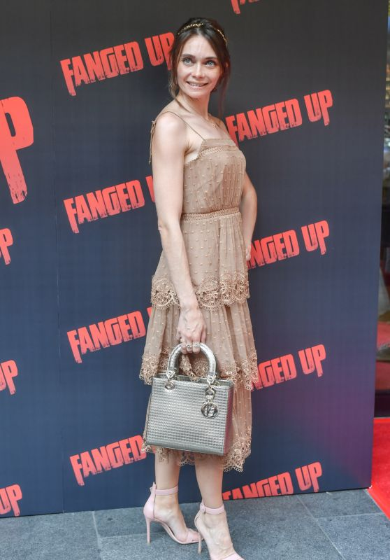 "Anna Danshina – ""Fanged Up"" Premiere in London"