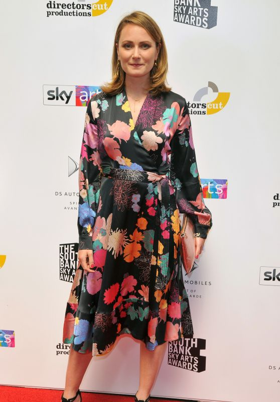 Anna Madeley – Southbank Sky Arts Awards 2018 in London