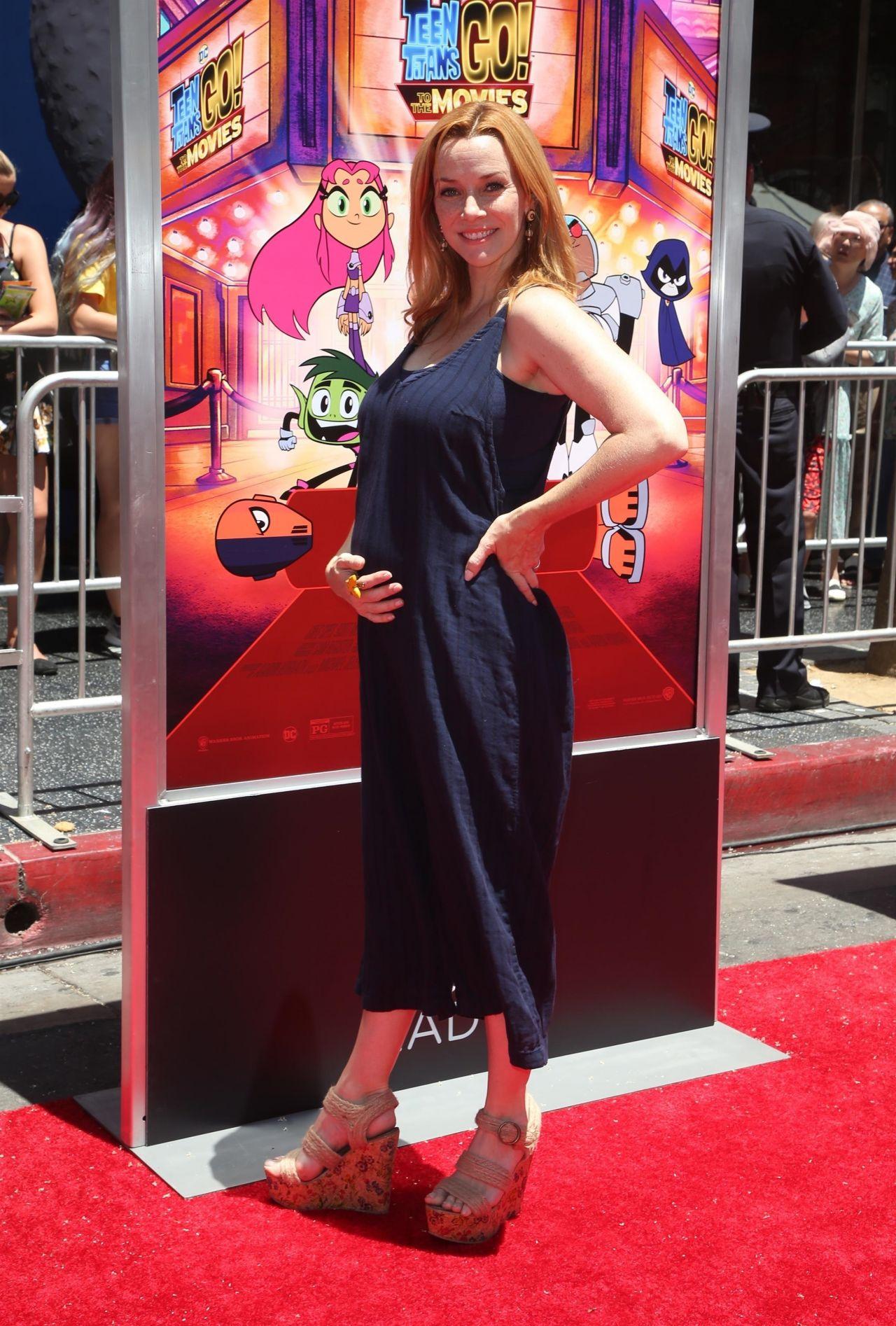 Annie Wersching  Teen Titans Go To The Movies Premiere -1238