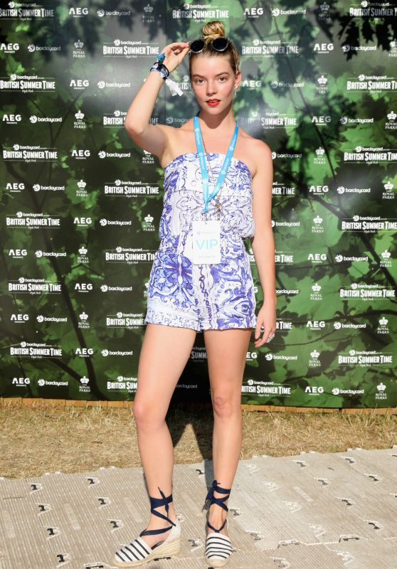 Anya Taylor-Joy - British Summer Time Hyde Park in London 07/15/2018