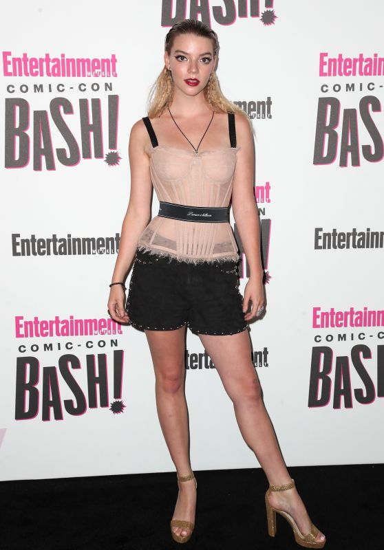 Anya Taylor-Joy – EW's Comic-Con Bash in San Diego 07/21/2018