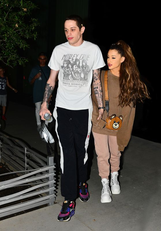 Ariana Grande and Pete Davidson Night Out in NYC 07/02/2018