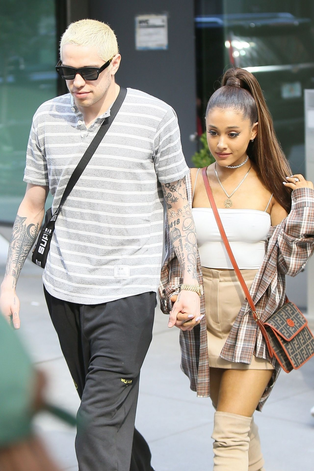 Ariana Grande and Pete Davidson go shopping at Barneys