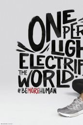 Ariana Grande - Reebok #bemorehuman Campaign Promotional Photoshoot 2018