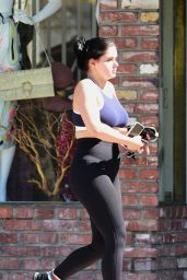 Ariel Winter After a Workout - LA 07/25/2018