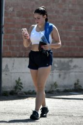 Ariel Winter in Workout Gear - Studio City 07/26/2018