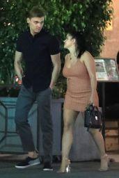 Ariel Winter - Romantic Dinner Date at an Italian Restaurant in Beverly Hills 07/23/2018